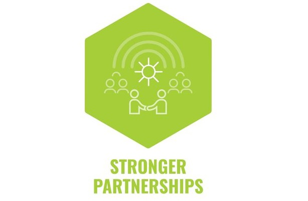 stronger partnerships strap